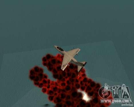 Cluster Bomber pour GTA San Andreas sixième écran