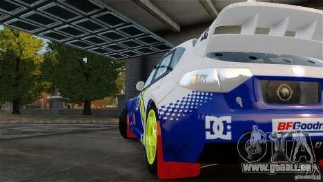 Subaru Impreza WRX STI Rallycross BFGoodric für GTA 4 rechte Ansicht