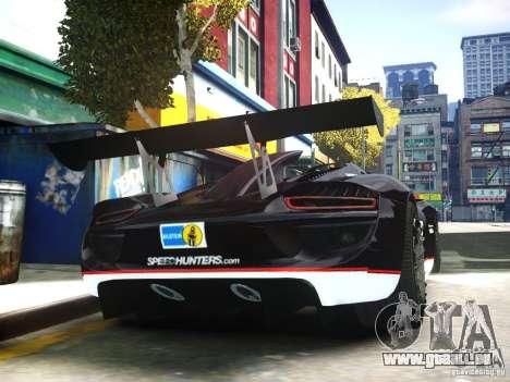 Porsche 918 Spider Body Kit Final pour GTA 4 est un droit