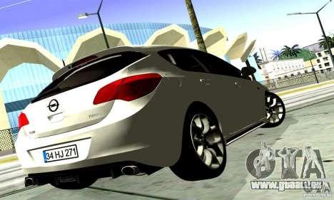 Opel Astra Senner pour GTA San Andreas vue arrière