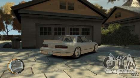 Nissan Silvia s13 Drifted v1.0 für GTA 4 linke Ansicht
