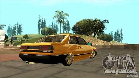 Volkswagen Santana GLS für GTA San Andreas rechten Ansicht