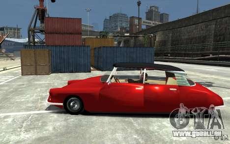Citroen ID 19 für GTA 4 linke Ansicht