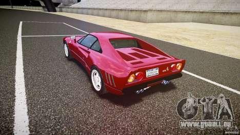 Ferrari 288 GTO für GTA 4 Seitenansicht