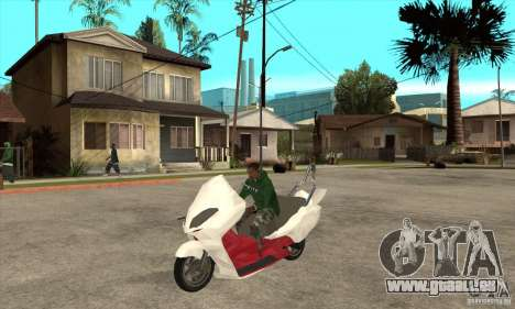 Honda Forza pour GTA San Andreas