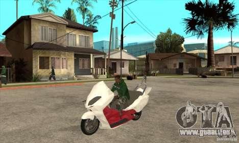 Honda Forza für GTA San Andreas