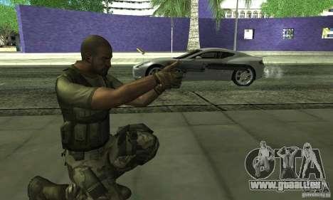 Sam Fisher Army SCDA pour GTA San Andreas quatrième écran