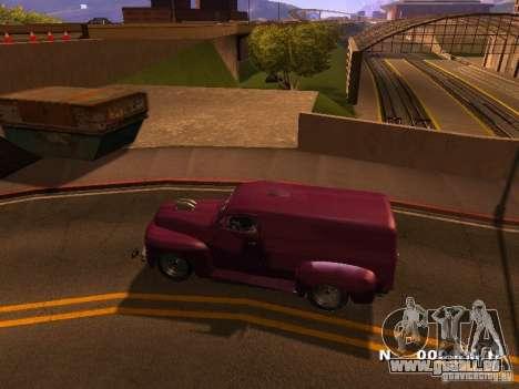 49 Ford HR Van pour GTA San Andreas laissé vue