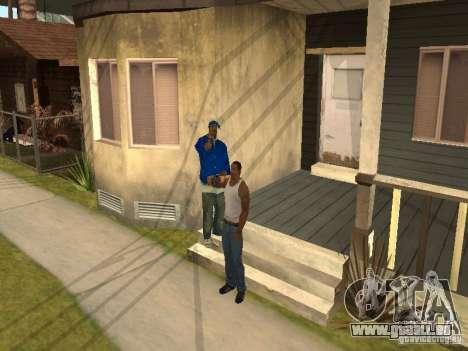 Sie können sitzen, Rauchen, trinken Whiskey, Erb für GTA San Andreas dritten Screenshot