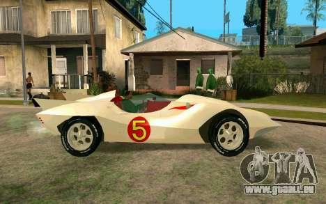 Mach 5 pour GTA San Andreas laissé vue
