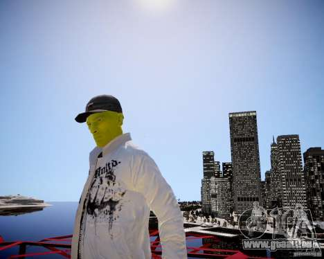 Niko The Mask für GTA 4 weiter Screenshot