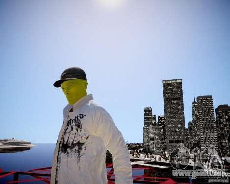 Niko The Mask für GTA 4 weiter Screenshot