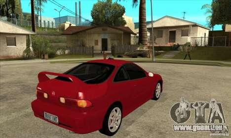 Acura Integra Type-R - Stock pour GTA San Andreas vue de droite