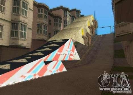 Jump Ramp Stunting für GTA San Andreas zweiten Screenshot