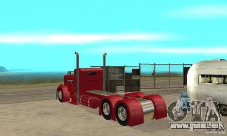 Peterbilt Coupe pour GTA San Andreas vue de droite
