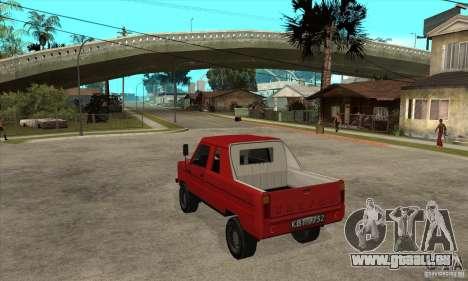 FSR Tarpan 237D (v.1) pour GTA San Andreas sur la vue arrière gauche