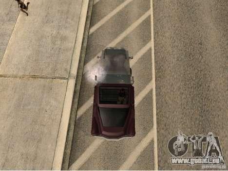 Walton turbine für GTA San Andreas rechten Ansicht