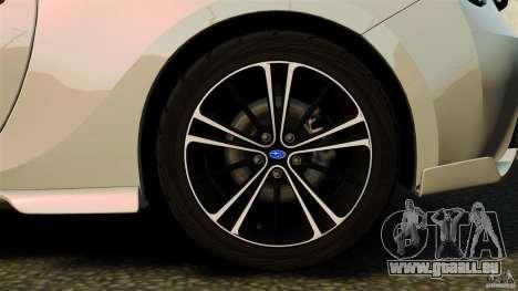 Subaru BRZ Rocket Bunny Aero Kit pour GTA 4 est une vue de l'intérieur