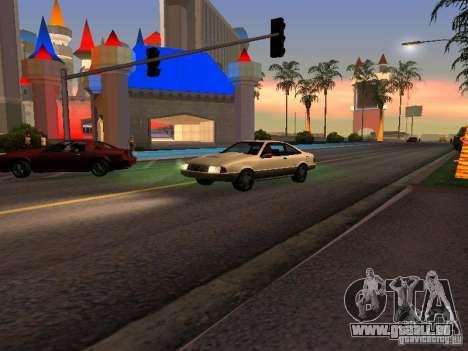 Graphique des versions console pour GTA San Andreas deuxième écran
