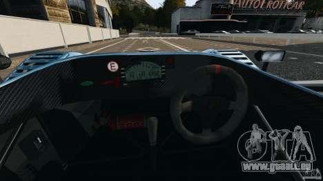Radical SR3 pour GTA 4 Vue arrière