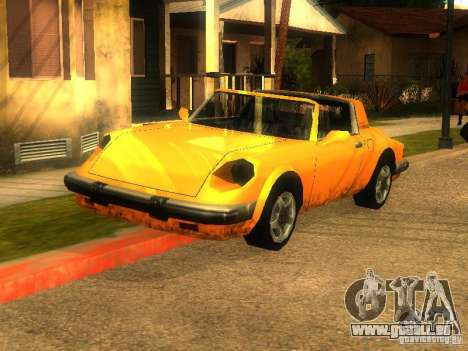 New Car in Grove Street für GTA San Andreas