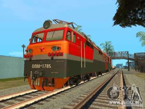 Vl80m-1785, chemins de fer russes pour GTA San Andreas