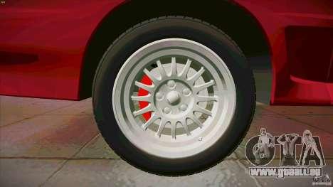 Audi Sport quattro 1983 pour GTA San Andreas vue de dessous