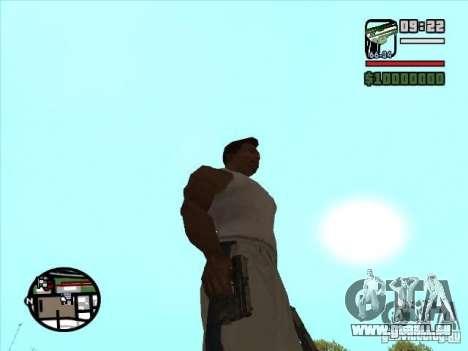 USP 45 pour GTA San Andreas deuxième écran