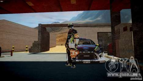 Ken Block Gymkhana 5 Clothes (Unofficial DC) für GTA 4 fünften Screenshot