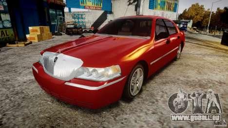 Lincoln Town Car 2003 pour GTA 4