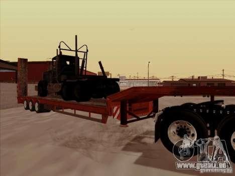 Volvo VNL 670-trailer für GTA San Andreas