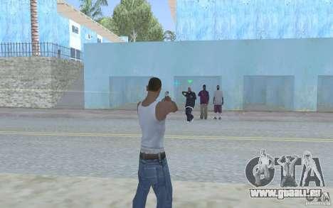 Blaue Augen für GTA San Andreas dritten Screenshot