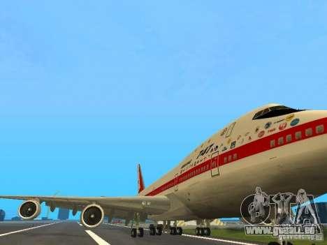 Boeing 747-100 für GTA San Andreas linke Ansicht