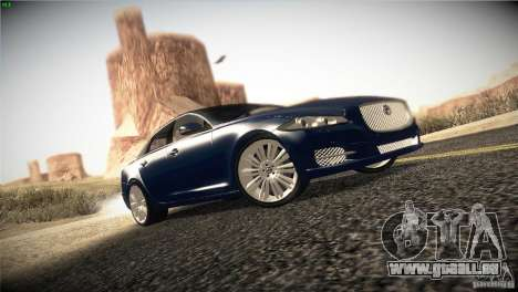 Jaguar XJ 2010 V1.0 pour GTA San Andreas