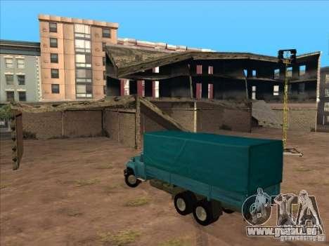 ZIL-133GÂ pour GTA San Andreas vue arrière