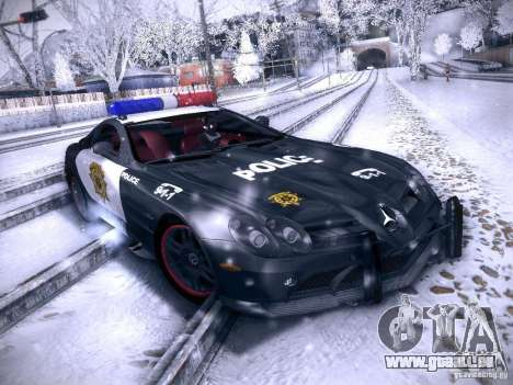 Mercedes-Benz SRL 722 Police für GTA San Andreas