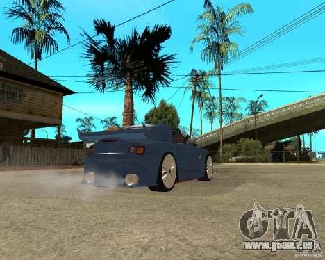 BMW Z4 Supreme Pimp TUNING volume I pour GTA San Andreas vue de droite