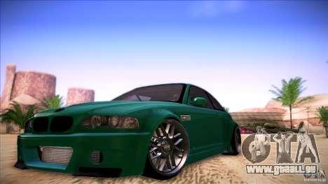 BMW E46 Drift II pour GTA San Andreas
