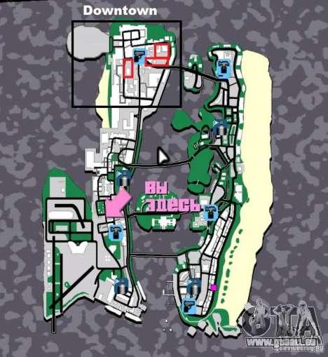 New Downtown: Hospital and scyscrap pour GTA Vice City neuvième écran