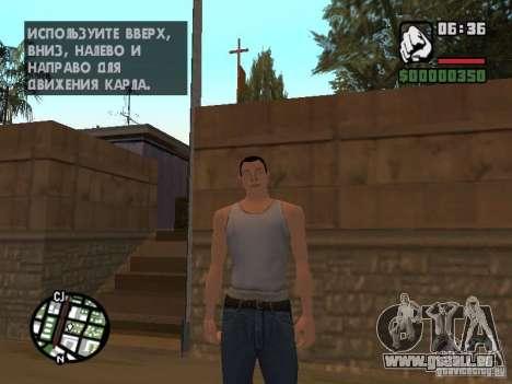 Skin pour CJ-Cool mec pour GTA San Andreas