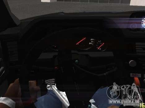 Nissan Skyline GT-R R34 V-Spec pour GTA San Andreas vue de dessous