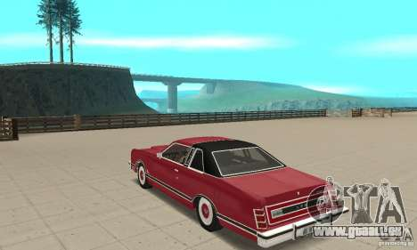 Ford LTD Landau Coupe 1975 pour GTA San Andreas sur la vue arrière gauche