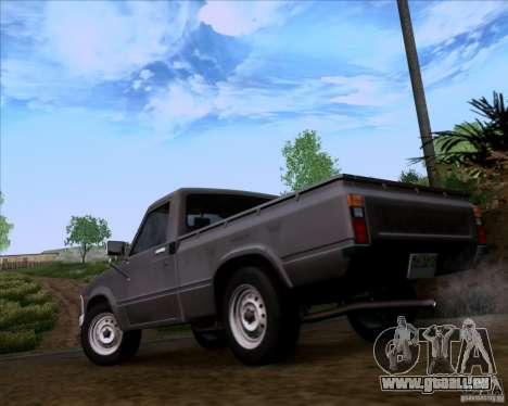 Toyota Truck RN30 pour GTA San Andreas laissé vue