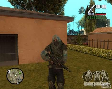 Stalker clear Sky aus für GTA San Andreas