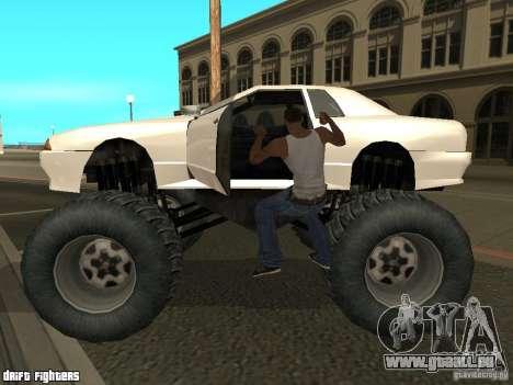Elegy Monster für GTA San Andreas linke Ansicht