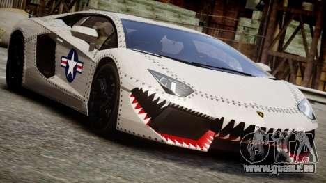 Lamborghini Aventador LP700-4 2012 USAF für GTA 4