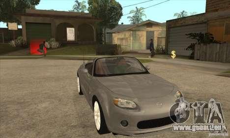 Mazda MX-5 2007 pour GTA San Andreas vue arrière