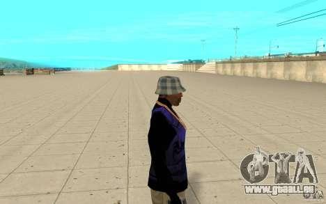 Bronik peau 2 pour GTA San Andreas deuxième écran