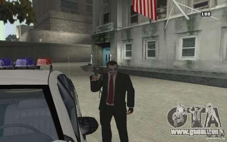 Animation von GTA IV V 2.0 für GTA San Andreas siebten Screenshot
