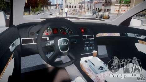 Audi A6 TDI 3.0 pour GTA 4 est un droit